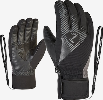 ZIENER Skihandschuh GIDO GTX in schwarz, Produktansicht