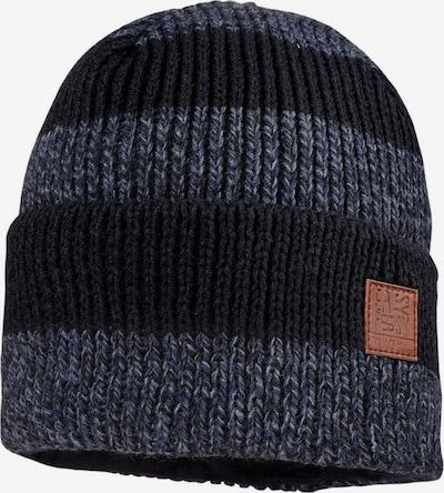 MAXIMO Mütze in nachtblau / taubenblau / graumeliert, Produktansicht
