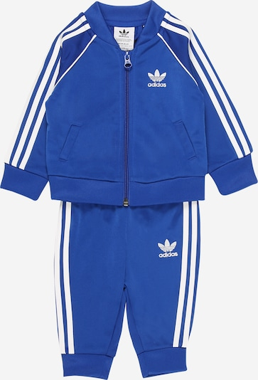 ADIDAS ORIGINALS Trainingsanzug 'Adicolor SST' in blau / weiß, Produktansicht