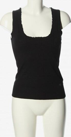 BASE Basic Top in S in schwarz, Produktansicht