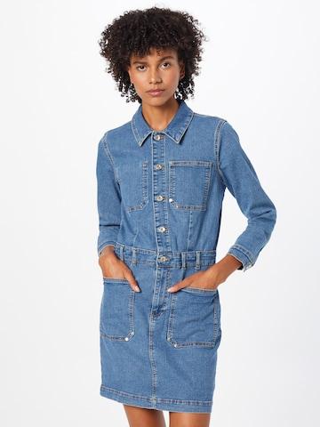 ONLY Kleid 'NICO' in Blau