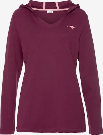 KangaROOS Sweatshirt in Lila