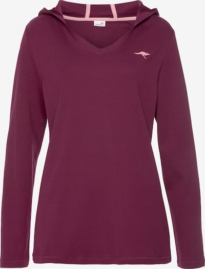 KangaROOS Sweatshirt in beere, Produktansicht