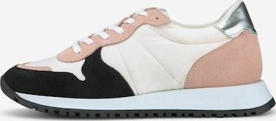 COX Sneaker in altrosa / schwarz / silber / weiß, Produktansicht