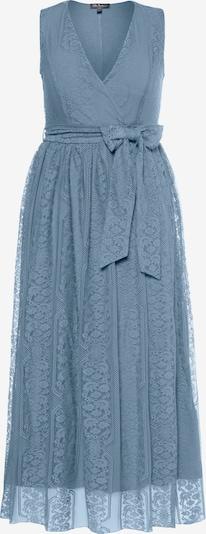 Ulla Popken Abendkleid '727218' in blau, Produktansicht