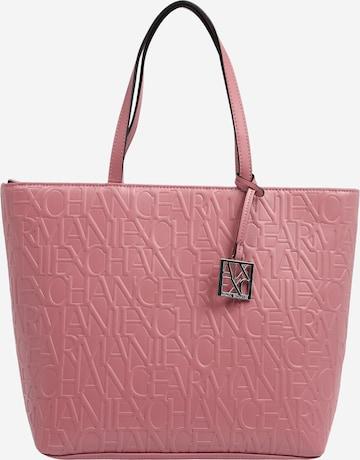 Shopper di ARMANI EXCHANGE in rosa