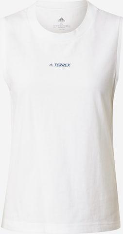 adidas Terrex Sporttop in Weiß