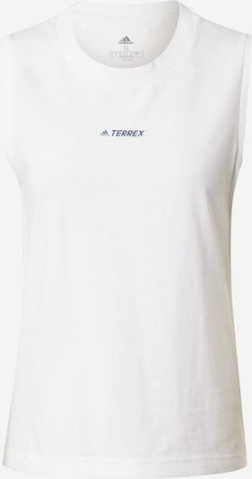 adidas Terrex Sports Top in White, Item view