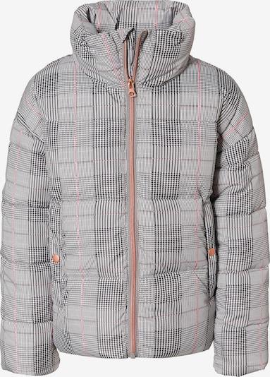 NAME IT Winterjacke 'Nkfmisa' in grau / mischfarben, Produktansicht