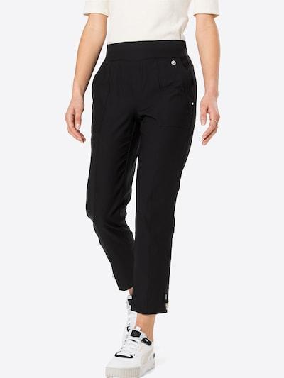 STREET ONE Kalhoty 'Bonny' - černá / bílá, Model/ka