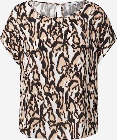 Hailys Μπλούζα 'Farina' σε κρεμ / ανοικτό μπεζ / καφέ / μαύρο, Άποψη προϊόντος