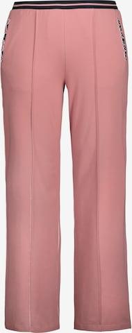 Pantalon à plis Ulla Popken en rose