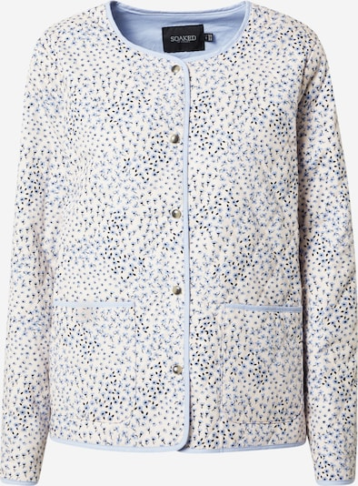 SOAKED IN LUXURY Jacke 'Qarin' in blau / schwarz / weiß, Produktansicht