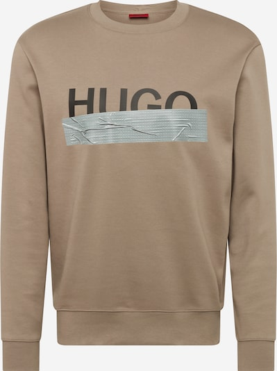 HUGO Jaka ar kapuci 'Dicago' gaiši brūns / pelēks / melns, Preces skats