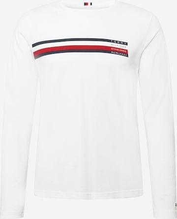 T-Shirt TOMMY HILFIGER en blanc