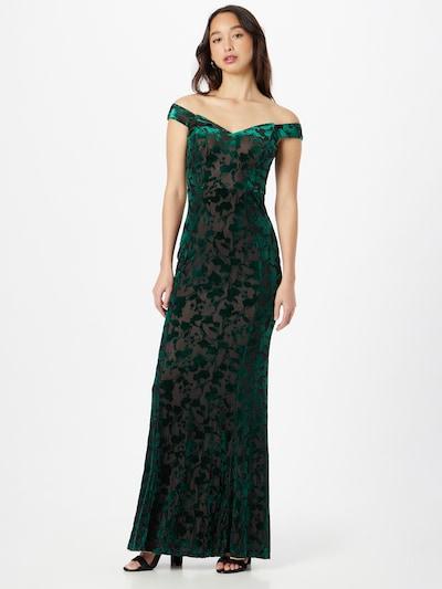 Lipsy Avondjurk in de kleur Smaragd / Zwart, Modelweergave