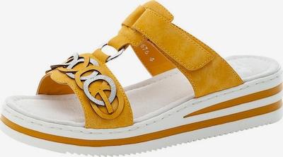 RIEKER Pantofle - žlutá, Produkt