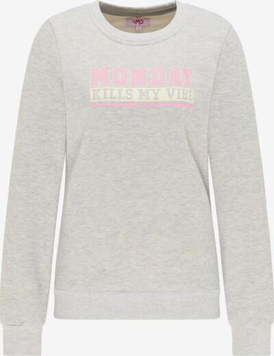 szürke melír / rózsaszín / fehér MYMO Tréning póló, Termék nézet