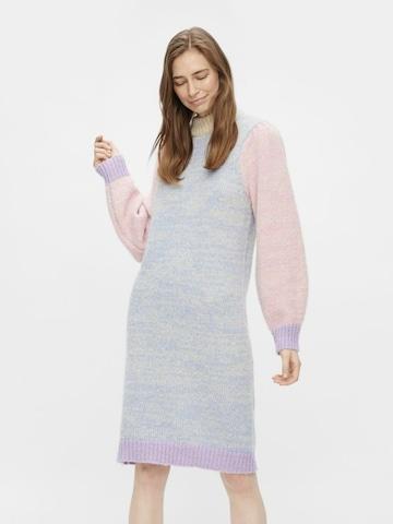PIECES Gebreide jurk 'ELISIA' in Lila