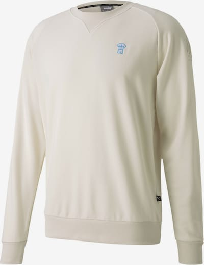 PUMA Sportsweatshirt 'Olympique de Marseille' in de kleur Offwhite, Productweergave