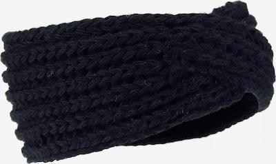 LOEVENICH Strickstirnband ' gedreht ' in schwarz, Produktansicht