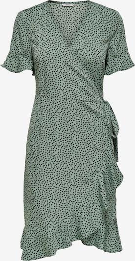 ONLY Kleid 'ONLOLIVIA' in grün / schwarz, Produktansicht