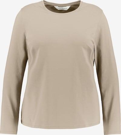 Studio Untold Shirt in de kleur Camel, Productweergave
