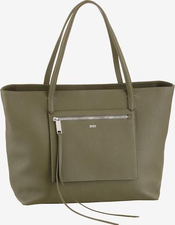 BOSS Casual Shopper in Green