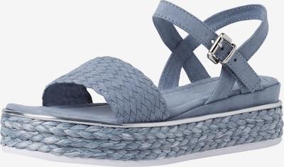 MARCO TOZZI Sandale in rauchblau, Produktansicht