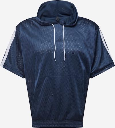 Tricou funcțional ADIDAS PERFORMANCE pe bleumarin / alb, Vizualizare produs