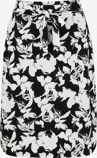 COMMA Rock in schwarz / weiß, Produktansicht