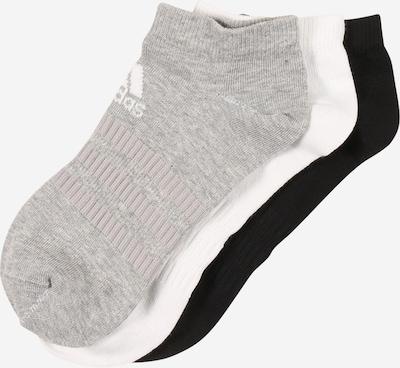 ADIDAS PERFORMANCE Sportsocken in graumeliert / schwarz / weiß, Produktansicht