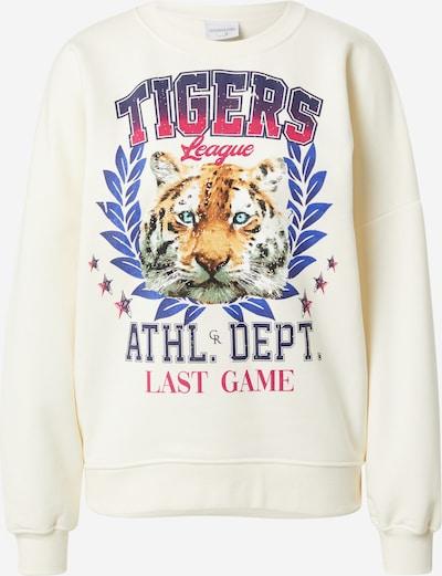 Colourful Rebel Sweatshirt 'Tigers League' in mischfarben / naturweiß, Produktansicht