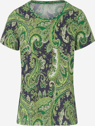 Peter Hahn T-Shirt in blau / grün / weiß, Produktansicht