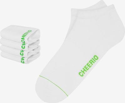 CHEERIO* Ponožky 'SNEAKER PAL 4P' - bílá, Produkt