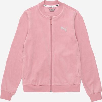 PUMA Sweatjacke 'Alpha' in rosa, Produktansicht