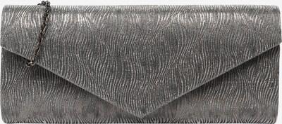 mascara Clutch 'RIPPLE FOLD' in silbergrau, Produktansicht
