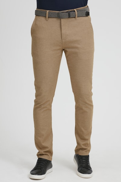 INDICODE JEANS Chino Pants in Beige / Brown, View model