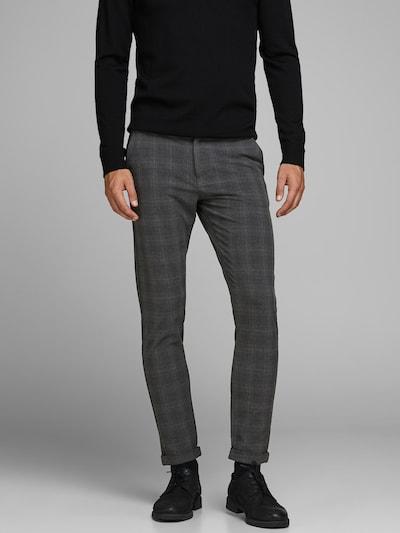 JACK & JONES Pantalon chino 'Marco' en sable / gris / anthracite, Vue avec modèle