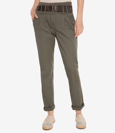Soccx Hose in grün, Modelansicht