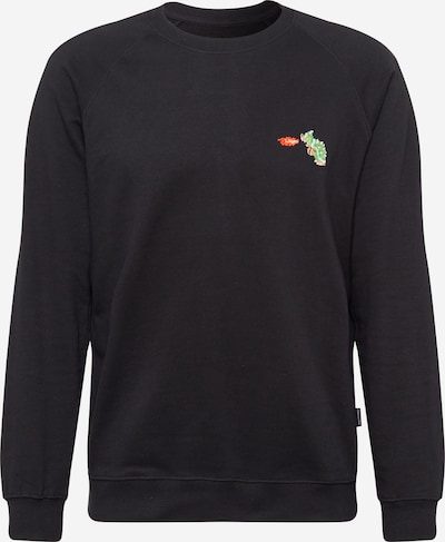 DEDICATED. Sweatshirt 'Bowser' in schwarz, Produktansicht