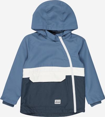 NAME IT Kurtka przejściowa 'Micco' w kolorze podpalany niebieski / gołąbkowo niebieski / białym, Podgląd produktu