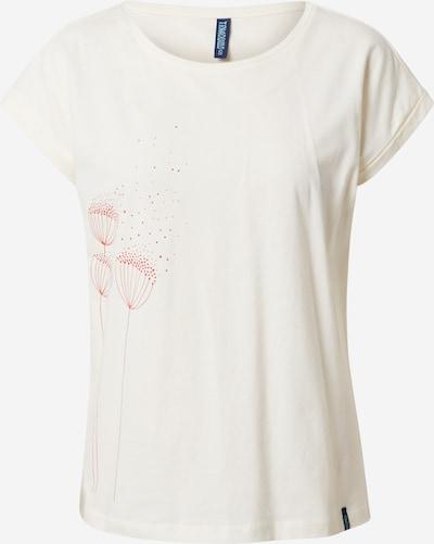 Maglietta Tranquillo di colore pitaya / offwhite, Visualizzazione prodotti