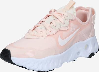 Nike Sportswear Ниски сникърси 'React Art 3' в праскова / бяло, Преглед на продукта