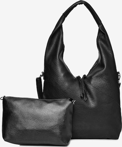 Emma & Kelly Henkeltasche in schwarz, Produktansicht