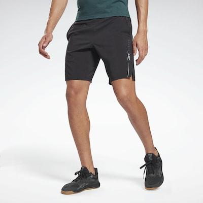 fekete REEBOK Sportnadrágok, Modell nézet
