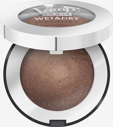 PUPA Milano Eyeshadow 'Vamp! Wet & Dry' in Brown