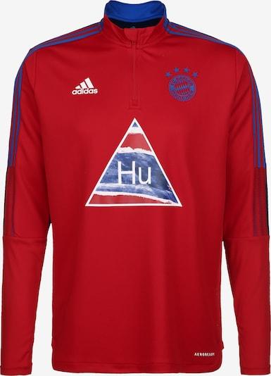 ADIDAS PERFORMANCE Sweat de sport ' Human Race FC' en rouge, Vue avec produit
