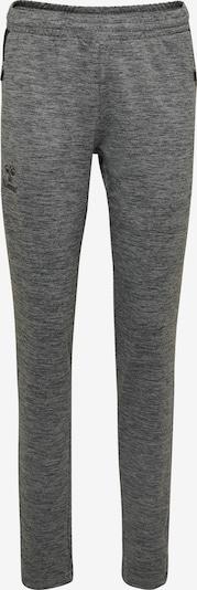 Hummel Hose in graumeliert / schwarz, Produktansicht
