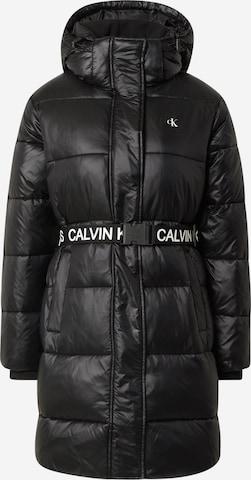 Calvin Klein Jeans Télikabátok - fekete